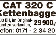 CAT 320 CLN