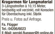 Maurergerüst System Layher /  Ohra Schwerlastregal