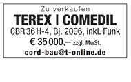 TEREX | COMEDIL zu verkaufen