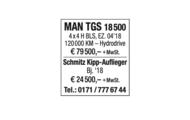 MAN TGS 18 500