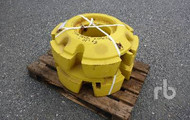 JOHN DEERE Wheel Weights Qty Of 2