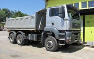 1 Lkw MAN Typ: TGA13E71 0126011Modell: TGA 26.390 6x6-2BB