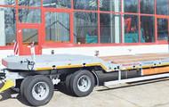 4-Achs-Tieflader-Anhänger