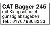 Cat Bagger 245