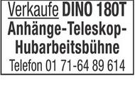 DINO 180T Anhänge-Teleskop- Hubarbeitsbühne