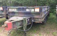 1984 (unverified) Beta M989 Ammunition Transport Trailer
