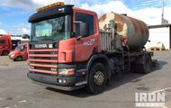 2003 Scania 94D 260 4x2 Emulsion Sprayer Truck