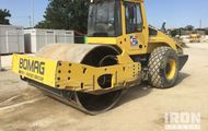 2012 Bomag BW219 DH-4 Vibratory Single Drum Compactor