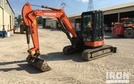 2010 Hitachi ZX48U-3 Mini Excavator