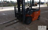2009 Heli CPD25B Electric Forklift