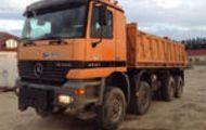 1999 Mercedes-Benz Actros 4143 8x6 Dump Truck