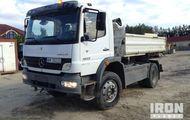 2005 Mercedes-Benz Atego 1523 4x4 Dump Truck