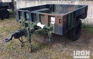 2009 Silver Eagle M1102 S/A Utility Trailer