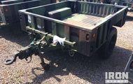 1998 Silver Eagle M1102 Cargo Trailer
