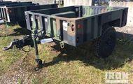 1998 Silver Eagle M1102 S/A Utility Trailer