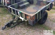 2009 Schutt M1102 Cargo Trailer