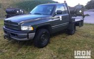 1998 Dodge Ram 2500 Flightline Tow Tractor