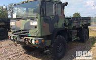 1998 Stewart & Stevenson M1078 LMTV 4x4 Cargo Truck