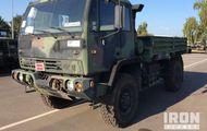 1997 Stewart & Stevenson M1078 LMTV 4x4 Cargo Truck