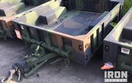 2009 Silver Eagle M1101 S/A Utility Trailer