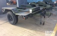 2006 US ARMY Tank Automotive Command S/A Trailer Chassis