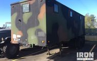 US ARMY Tank Automotive Command M129A3 Van Trailer