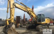 2006 New Holland E385 Track Excavator