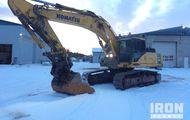 2005 Komatsu PC340-7K Track Excavator