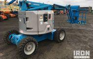 2001 Genie Z-34 4WD Diesel Articulating Boom Lift