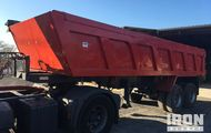 1979 Marrel MBJ32G T/A End Dump Trailer
