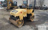 2005 Cat CB224E Vibratory Double Drum Compactor