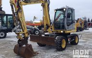 2007 New Holland MH2.6 Wheel Excavator