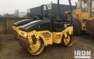2005 Bomag BW120AD-4 Vibratory Double Drum Compactor