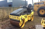 2008 Bomag BW100AD-4 Vibratory Double Drum Compactor