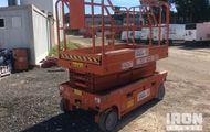 2001 Haulotte Compact 10S Electric Scissor Lift