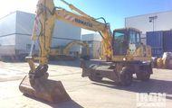 2006 Komatsu PW180-7K Wheel Excavator