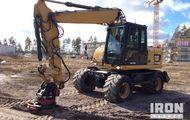 2010 Cat M313D Wheel Excavator