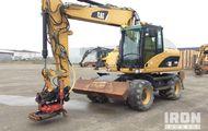 2008 Cat M315D Wheel Excavator