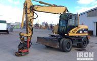 2007 Cat M315C Wheel Excavator