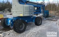 2007 Genie Z-60/34 Articulating Boom Lift