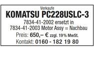 KOMATSU PC228USLC-3