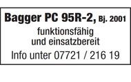 Bagger PC 95R-2