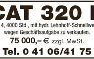CAT 320 E