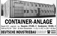 Container-Anlage