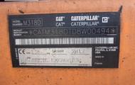 CATERPILLAR M318D