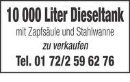 10 000 Liter Dieseltank