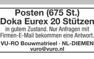 Posten (675 St.) Doka Eurex 20 Stützen