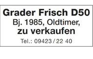 Grader Frisch D50