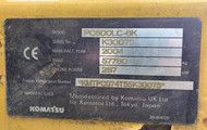 KOMATSU PC600LC-8