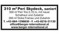 310 m2 Peri Skydeck, saniert